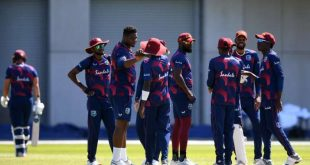 West Indies team will wear a logo on their shirt to support the issue