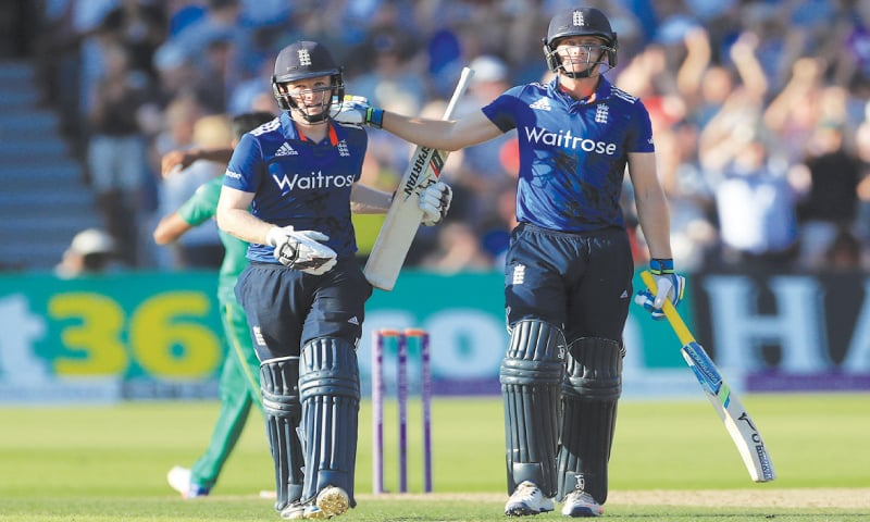 Eoin Morgan and Joss Butler helped in England's triumph over Pakistan